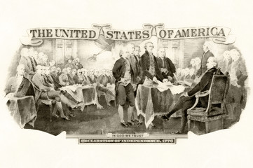 Picture on the topic of Declaration Of Independence