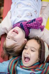 kids in park playground
