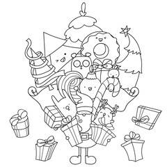 Kawaii Christmas Photos Royalty Free Images Graphics Vectors