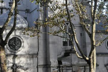 Kirchenfassade in London
