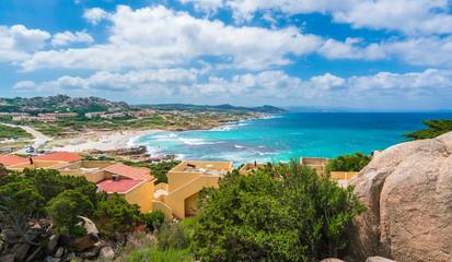 Wall Mural - Santa Reparata beach in Santa Teresa Gallura, north Sardinia island, Italy