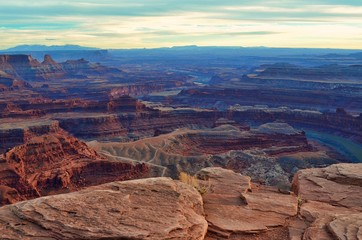 Dead Horse Point Park during SunSet