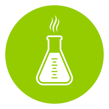 Green chemistry vector icon