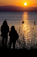 sunset watchers
