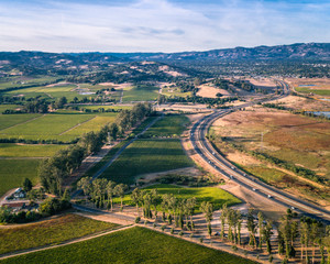 Aerial View of Napa