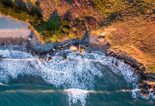 Aerial of Stinson beach