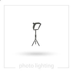 Spotlight vector icon