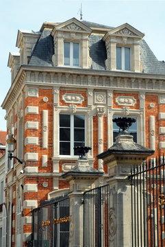 Ville d'Epernay, lycée Sainte-Marie, département de la Marne, France