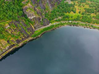 Fjord landscape, Eidfjorden Norway