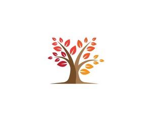 Tree symbol illustration