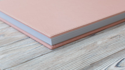 Photo album with a hard cover