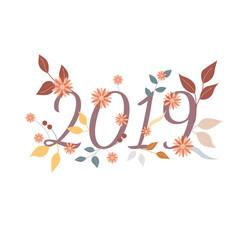 2019 Blumenranke
