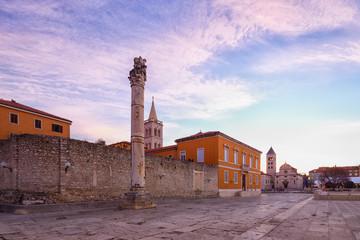 Wall Mural - St.Donatus church on the Roma Forum in Zadar. Croatia.