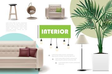 Realistic Home Interior Concept