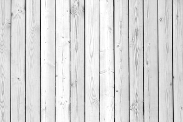 Wooden wall texture in black and white.