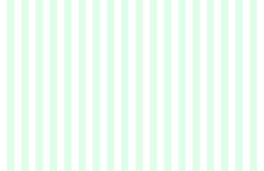 Pattern of vertical, same size mint green and white stripes with copy space. Seamless design of symmetrical lines forming pleasing, optical pattern, ideas and concepts for background, modern wallpaper