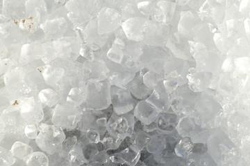 Eisstücke, Eiswürfel, Hintergrundbild