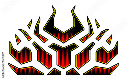 Blazing Fire Decals For The Hood Of The Car Hot Rod Racing Flames