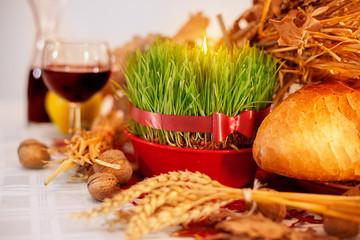 Tradicional Christmas table
