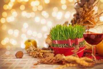 Orthodox Christmas on the table.