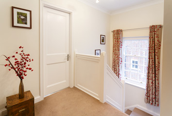 Upstairs landing in a house