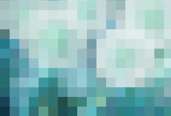 colored abstract background in pixels
