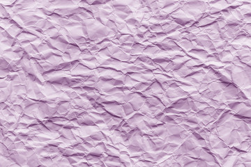 Texture of pink wrinkled paper