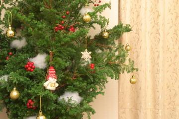 クリスマスツリー- Homemade Christmas tree