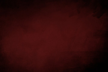 Dark red grungy background or texture