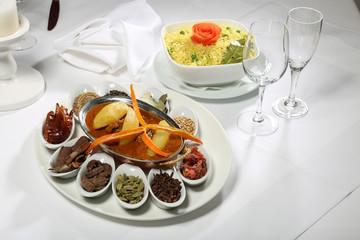 Indisches Vindaloo mit Kartoffeln
