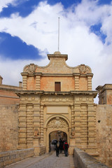 Mdina Malta, City Gate, Old Capital
