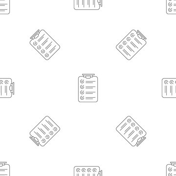 Checklist pattern seamless vector repeat geometric for any web design