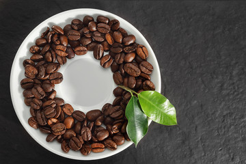 Coffee plate concept