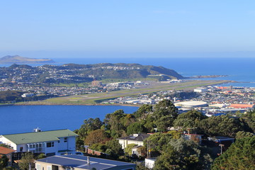 Airport of Wellington, New Zealand