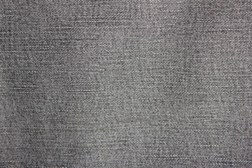 Grey Texture Background of Seamless Empty Denim Jeans Pattern. Blank Gray Jean Fabric Backdrop, Empty Clothing Material Canvas. Fashion Fabric Detail of Blank Casual Grey Color Seamless Wallpaper