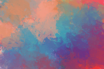 Colorful abstract artistic texture