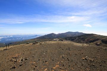 蔵王 熊野岳山頂の風景(山形県上山市)