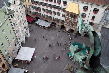 Innsbruck dall'alto