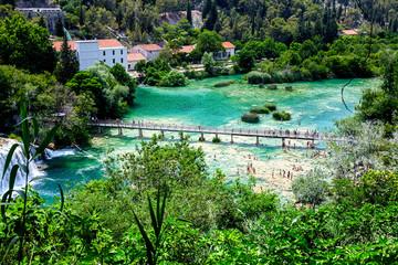 Krka National Park in Croatia, Europe