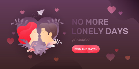 No More Lonely Days Web Banner