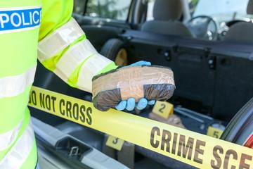 Crime scene: Drug trafficking