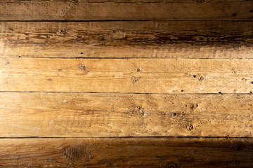 closeup background of Yellow wood old texture