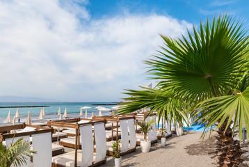 Wall Mural - Fanabe beach at Adeje Coast, Tenerife, Canary Islands, Spain