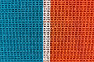 Artificial plastic sport venue flooring surface pattern