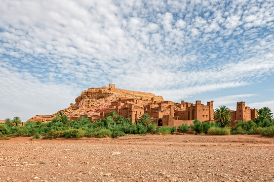 Ait Benhaddou. Morocco