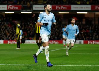 Premier League - Watford v Manchester City