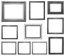 Silver Frame Multiple Selection