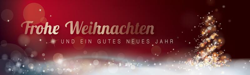 FROHE WEIHNACHTEN_GUTES NEUES JAHR_ROT