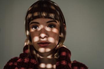 Young woman portrait.