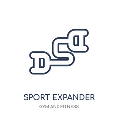 sport Expander icon. sport Expander linear symbol design from Gym and Fitness collection.